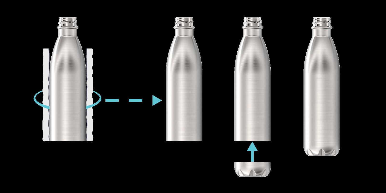 Hoe we onze metalen flessen maken - Step6