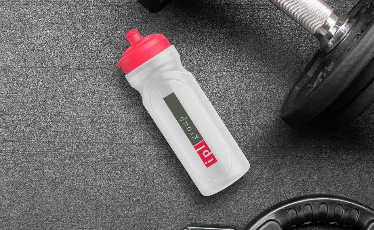 Refresh - Waterflessen staffel met logo
