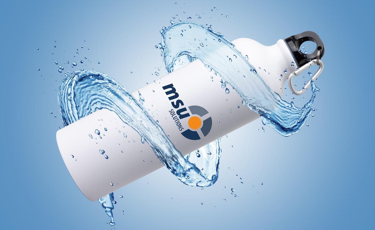 Vita - Bedrukte waterflessen